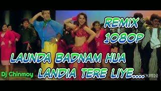 Landa Badnam Hua  Landia Tere Liye 1080p || Dj Chinmoy || Bapi Lahiri Dance Hits