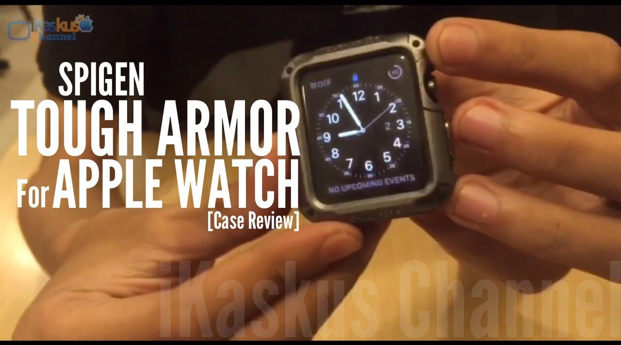 official photos 418a3 349a7 SPIGEN Tough Armor For Apple Watch - Case Review by iKaskus Indonesia