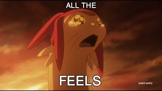 SPACE DANDY EPISODE 8 REACTION R.I.P.PUP (ALL THE FEELS) @mastacell
