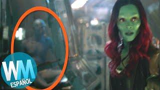 ¡Top 10 REFERENCIAS OCULTAS en Avengers: Infinity War!