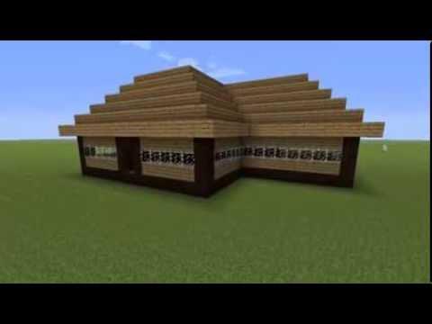 To minecraft cabana build
