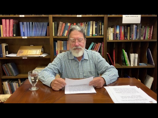 Bible Study with Bill Stahl - Week 19 Exodus Crossing the Sea