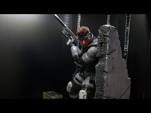 First 4 Figures Metal gear solid snake.