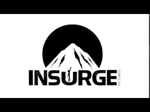 Insurge Pictures Logo (Negative-Colored version)