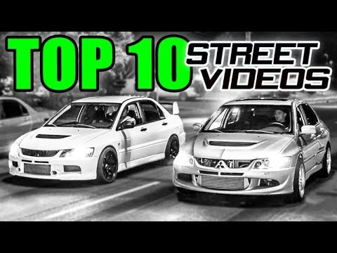 Top 10 CRAZIEST Street Races!