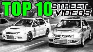 Top 10 CRAZIEST Street Races!