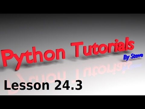 Python Tutorial v3.2.5 Lesson 24.3 - Discarding Items and Inventory Limit