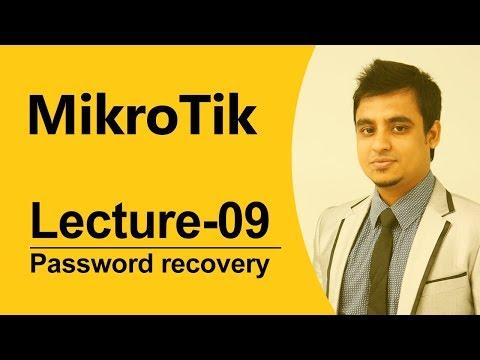 Mikrotik Bangla tutorial-9 (MTCNA): How to recover Mikrotik