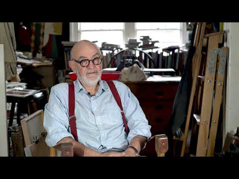 In the studio with artist Rick Amor