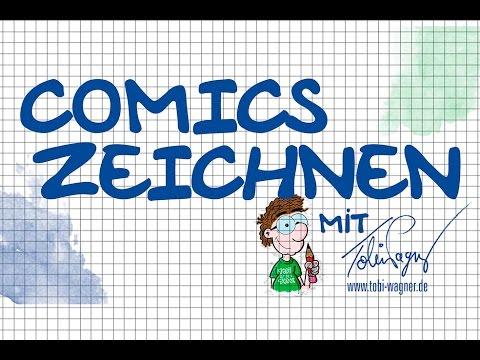 Comics zeichnen mit Tobi Wagner – KANALVORSTELLUNG