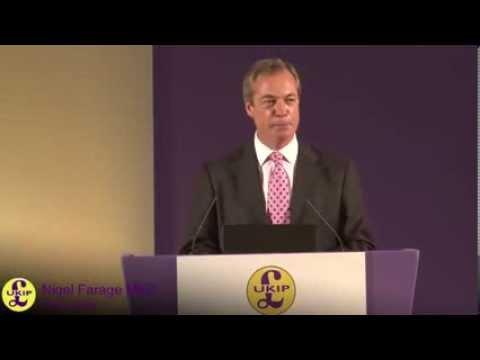 UKIP Nigel Farage - Conference Speech 2013