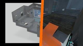 Suggested Portal 2 Maps - Orange Juice and Swing - Dark Rozen and HugoBDesigner (R)