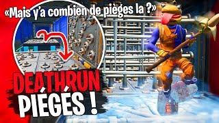 Une course Deathrun avec un max de pièges avec Doc Jazy et Dobby sur Fortnite Créatif !