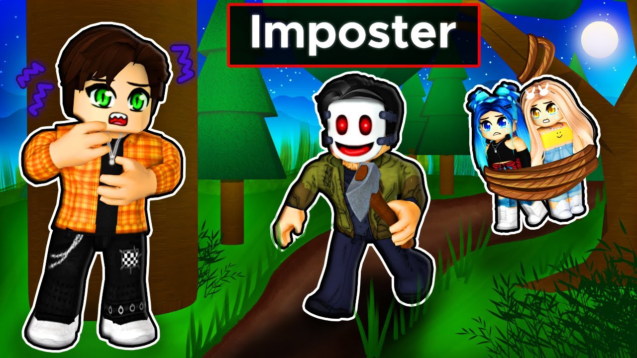 Download Trapped in a FOREST with an IMPOSTER in Roblox!