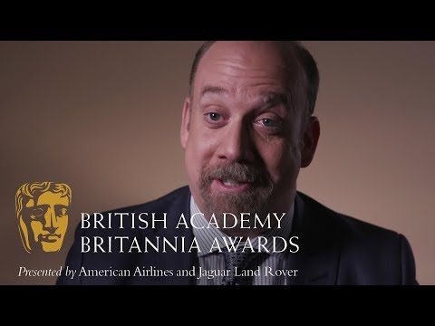 Paul Giamatti on Damian Lewis | Britannia Awards 2018
