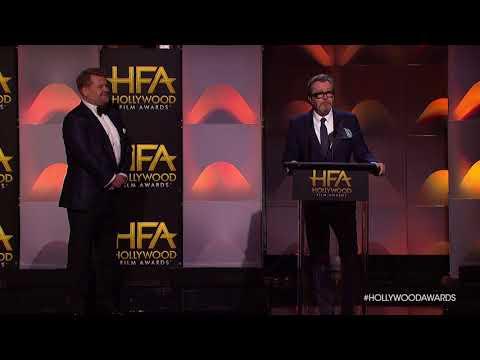 Gary Oldman Accepts the Career Achievement Award - HFA 2017