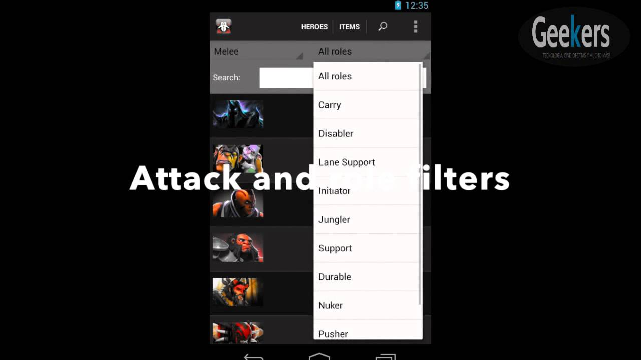 app android gu a profesional para dota 2 youtube