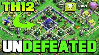 💥NEW TH12 TOP 3 TOWN HALL 12💥Trophy Base,Farming Base Legend League Of Clash Of Clan 2018.-Youtube
