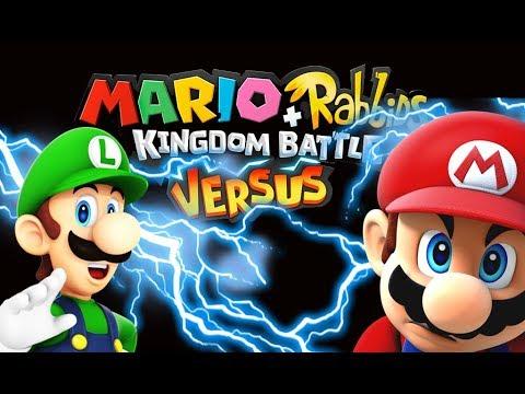 Download Youtube: Mario Rabbids + Kingdom Battle Versus Mode! LUIGI Vs MARIO