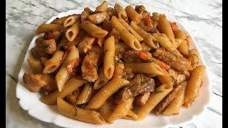 Быстрые Макароны на Сковороде Невозможно Устоять!!! / Макароны с Мясом / Паста / Pasta In a Pan