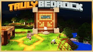 Truly Bedrock S1E34 New Build in Shopping Area | Minecraft Bedrock Edition SMP, MCPE, MCBE