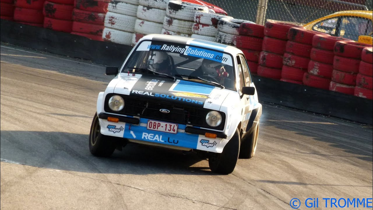 Onboard Dominique Mathy - Escort MKII - Historic ...