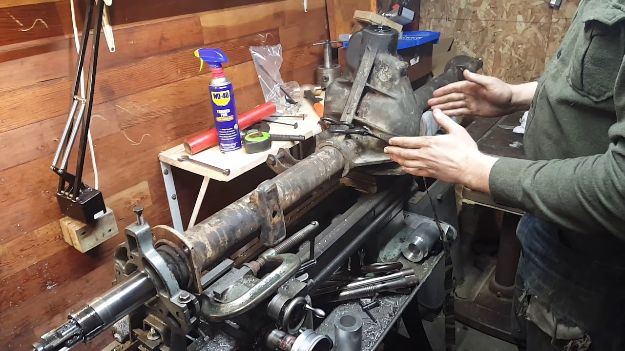 Reaming dana 60 for larger axle shafts