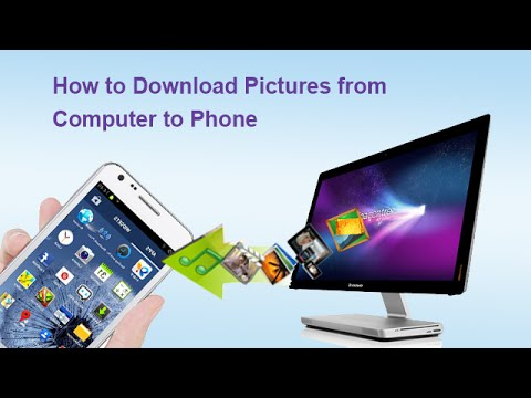 How to Download Pictures from Computer to Phone - YouTube