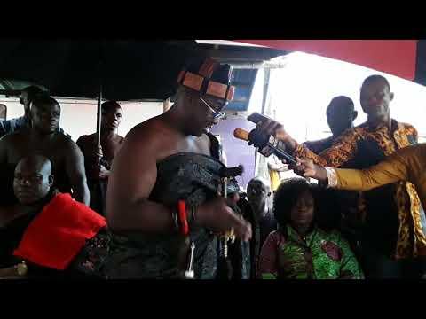 Akwamuhene, Nana Ansah Kwao, Gifty Anti mourn Asempa FM's KABA