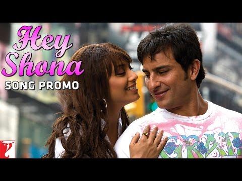 Hey Shona Song | Ta Ra Rum Pum | Saif Ali Khan | Rani Mukerji | Shaan | Sunidhi Chauhan