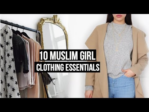 10 Modest Muslim Girl Clothing Essentials