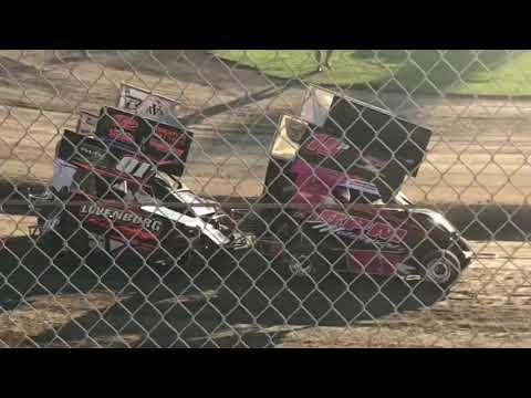 Delta Speedway 9/1/19 Jr Sprint Heat 2A- Ty