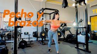 PECHO y BRAZOS entrenamiento completo con Ana Mojica Fitness