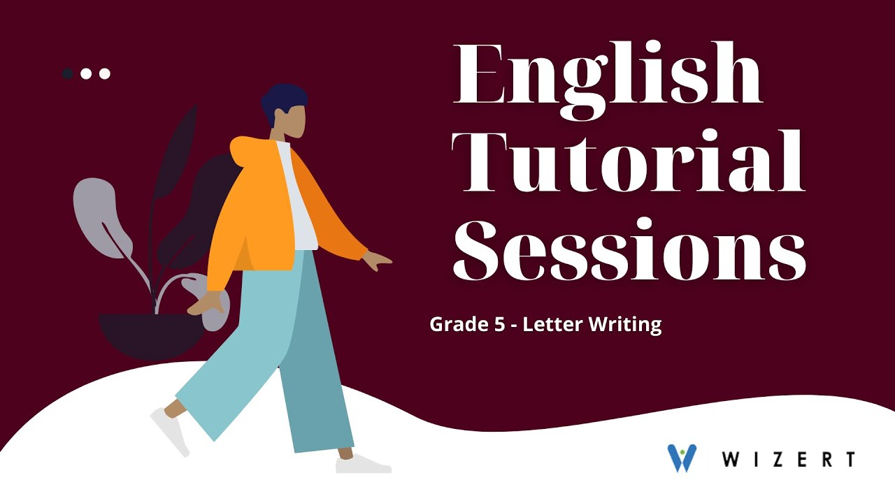 small resolution of English Grammar worksheets Letter Writing for Grade 5 - Grade 5 Letter  Writing - Set 1606288371 - YouTube