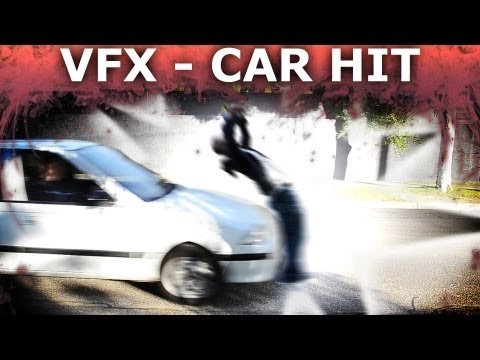 How To Get Hit By Car - Adobe After Effects Visual Effects Tutorial thumbnail