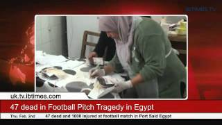 74 dead in Football Pitch Tragedy in Egypt