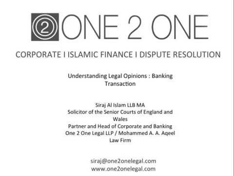 One 2 One Legal Training _Understanding Legal Opinion