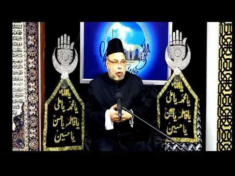 Molana Sadiq Hasan 1st Majlis Muharram 1440 / 2018 - Topic: Hukoomate Masumeen