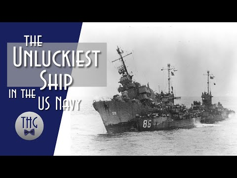 USS William D Porter, the Unluckiest Ship in the Navy