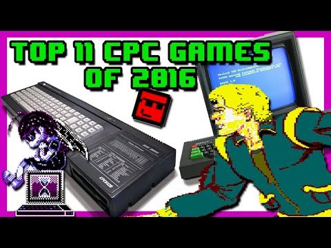 Top 11: Amstrad CPC Games of 2016 - YouTube