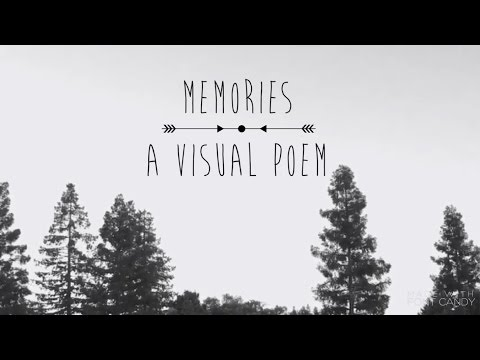 3. Memories: A Visual Poem by Emily Edmonds