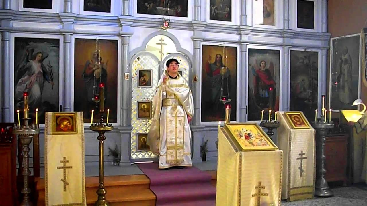 高崎ハリストス正教会 2011.1.9 ...