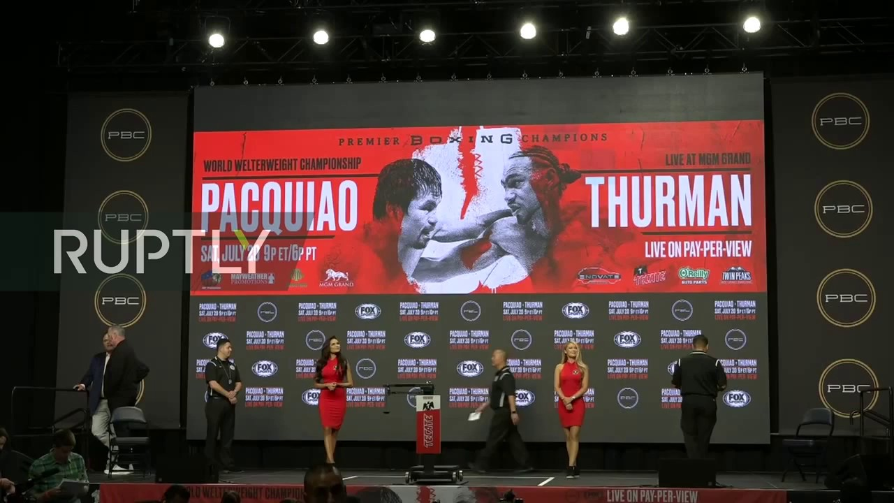 Manny Pacquiao vs. Keith Thurman fight results: Live boxing updates, scorecard, PPV start time