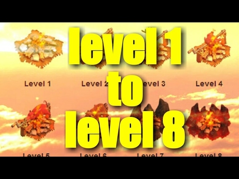 Level 1 army camp to Max level army camp within seconds