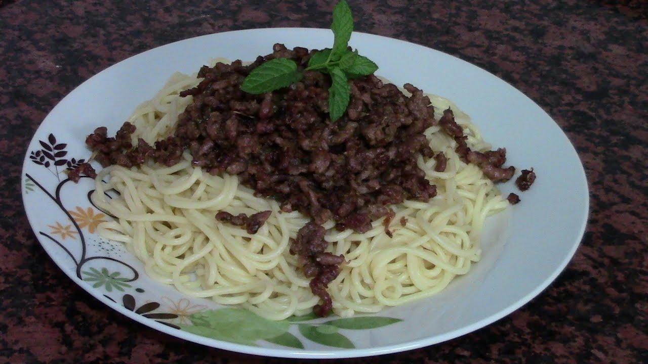 Espaguetis con ternera recetas de cocina faciles rapidas for Comidas ricas y faciles de preparar