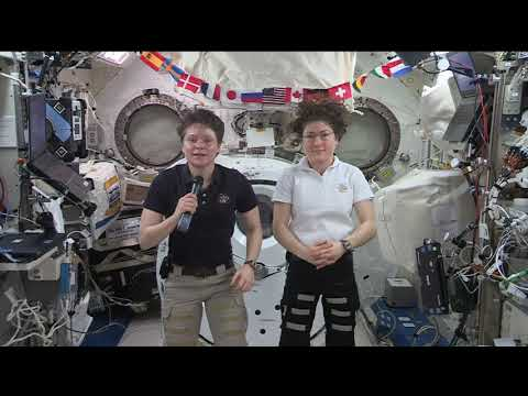 Expedition 59 Inflight Interview With CBS News And Fox Business News June 19, 2019