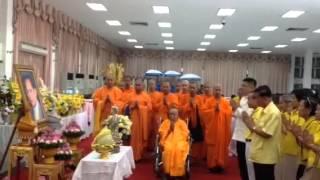 Phra  yu Lai chinese buddhism visits HM