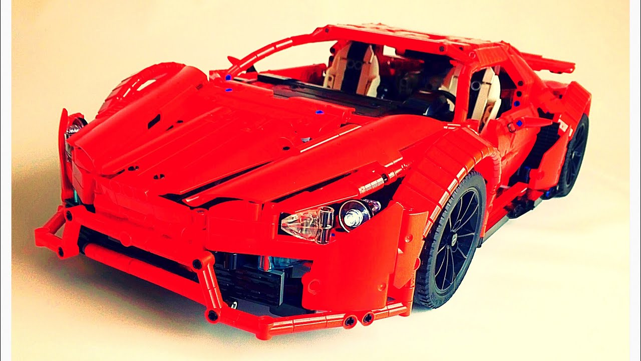 LEGO MOC-7951 Lykan hypersport (Technic > Model > Race 2017