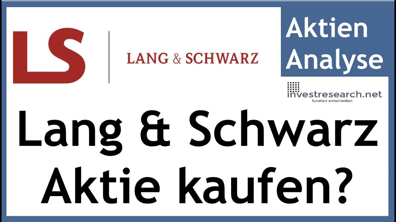 Aktie Lang Und Schwarz