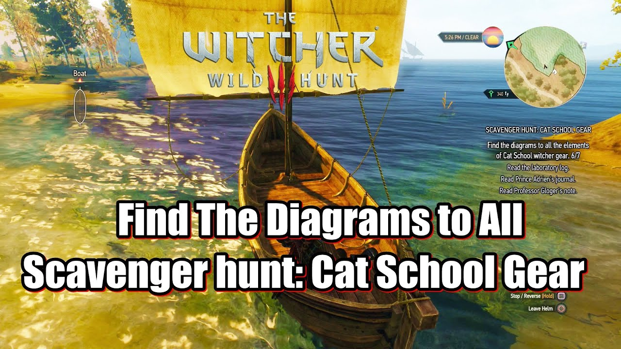 the witcher 3 wild hunt find the diagrams to all the elements of cat school witcher gear [ 1280 x 720 Pixel ]